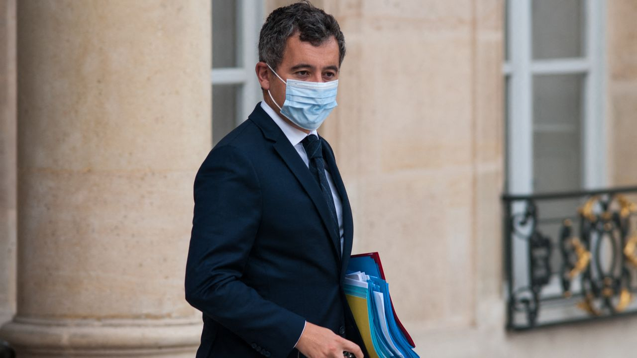Le ministre de l'Intérieur Gérard Darmanin a reçu Eric de Moulins-Beaufort pour un échange sur la question des abus sexuels dans l'Eglise (image d'illustration). [ANDREA SAVORANI NERI / NURPHOTO - AFP]