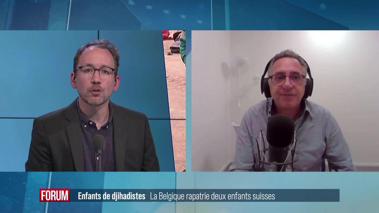 La Belgique rapatrie deux enfants suisses de djihadistes [RTS]