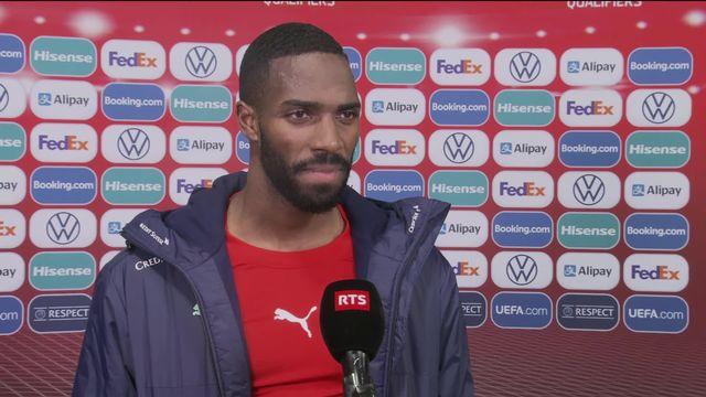 Ulisses Garcia à l'interview après la victoire [RTS]