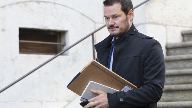 Le Ministère public a requis une peine plus lourde contre Pierre Maudet. [Salvatore Di Nolfi - KEYSTONE]