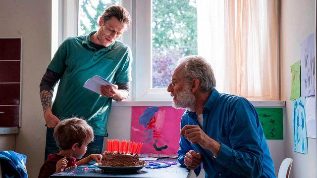 """Sur le tournage de """"Un endroit comme un autre"""", de Uberto Pasolini (2020). [Collection ChristopheL via AFP  - Picomedia - Digital Cube - Redwa  ]"""