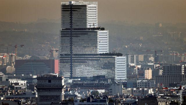 Vue aérienne du Palais de Justice de Paris.  [THOMAS COEX -  AFP]