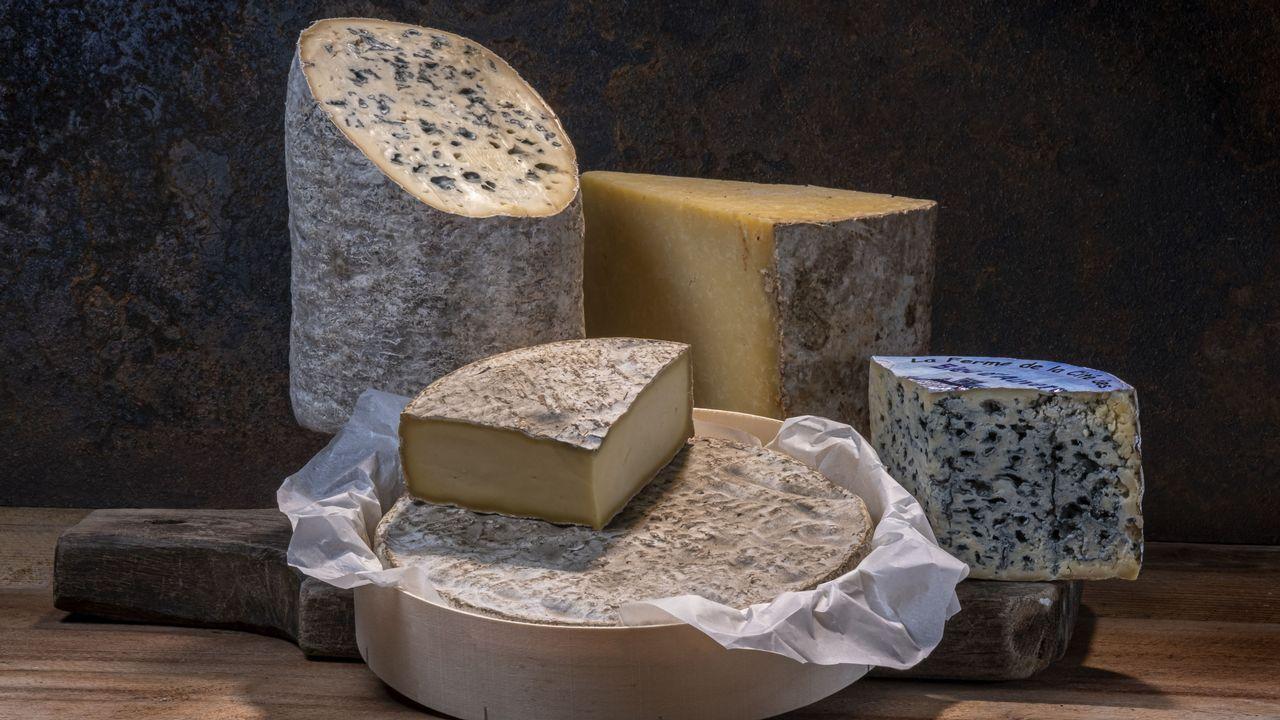 Nos ancêtres mangeaient déjà du fromage bleu. Image d'illustration [GUY CHRISTIAN / HEMIS.FR - AFP]