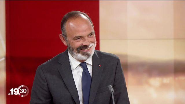 Entretien avec l'ancien Premier ministre Edouard Philippe. [RTS]