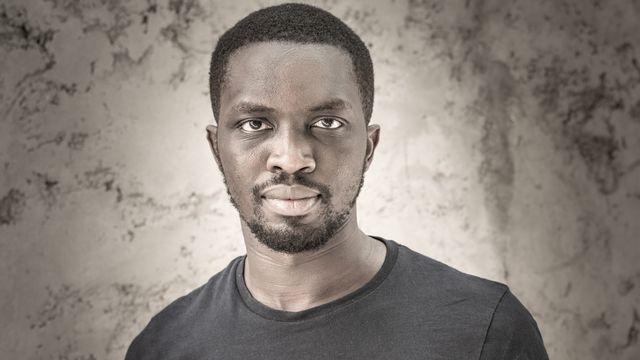 L'écrivain Sarr Mohamed Mbougar. [Antoine Tempé - DR]