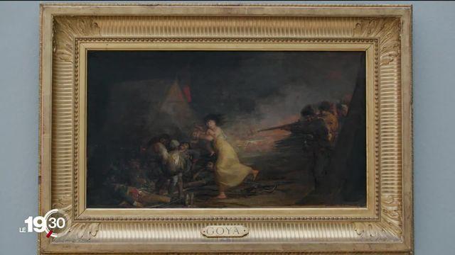 Le peintre Francisco de Goya est à l'honneur dans une grande rétrospective à la Fondation Beyeler, à Bâle. [RTS]