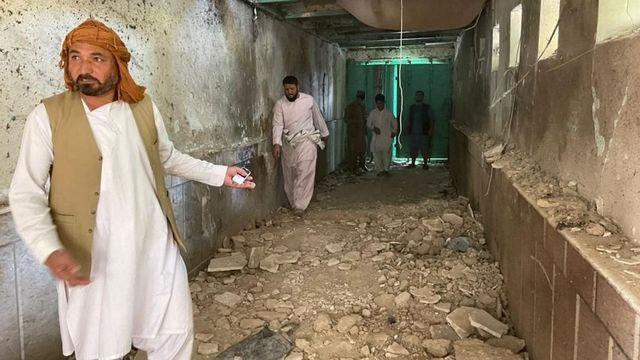 Des explosions ont touché une mosquée chiite à Kanadahar. [Murteza Khaliqi - Anadolu Agency via AFP]