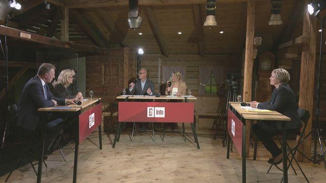 Débat des élections fribourgeoises: revoir l'émission spéciale de vendredi [RTS]