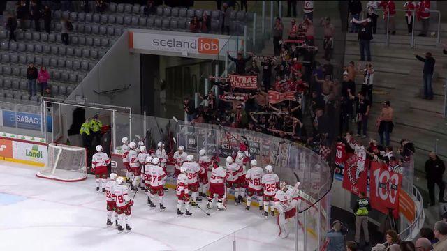 Hockey, National League, 15e journée: Bienne - Lausanne (1-3) [RTS]