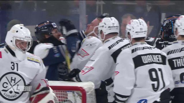 Hockey, National League, 15e journée: Ambri - Lugano (3-1) [RTS]