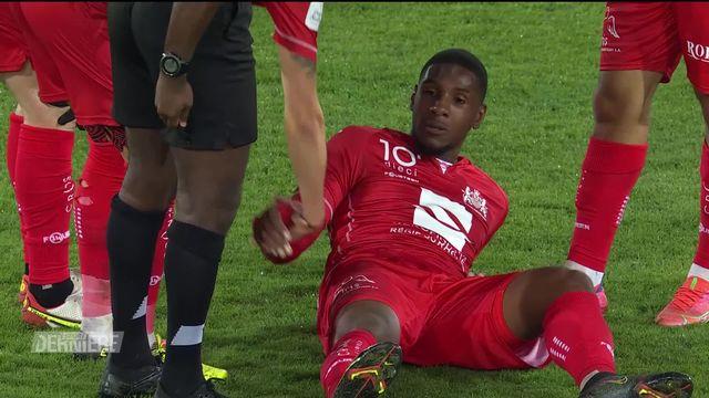 Football, Challenge League, 10e journée: Stade Lausanne Ouchy - Aarau (0-2) [RTS]