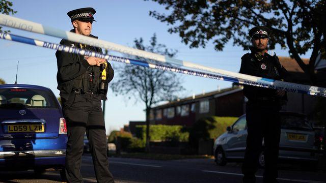 L'attaque mortelle au couteau contre le député conservateur britannique David Amess était un acte terroriste, a annoncé la police. [AP Photo/Alberto Pezzali - Keystone]