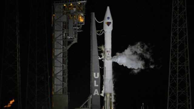 La sonde Lucy en route pour les astéroïdes près de Jupiter. [Bill Ingalls/NASA via AP - Keystone]