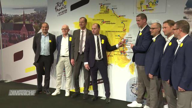 Cyclisme: retour du Tour de France en romandie [RTS]