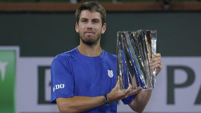 Le Britannique Cameron Norrie a remporté le tournoi californien pour la première fois. [AP Photo/Mark J. Terrill - Keystone]