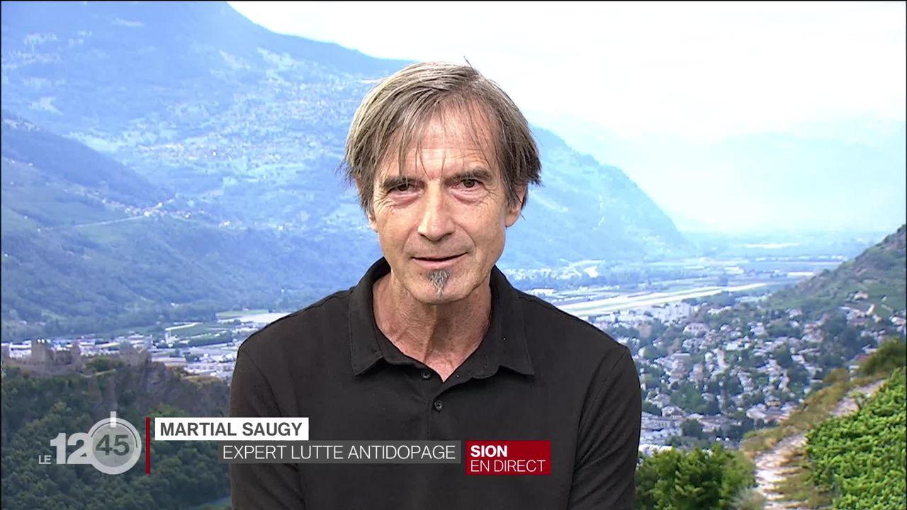 Le dopage n'existe pas que dans le sport, selon l'expert mondial du dopage Martial Saugy [RTS]