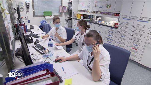 Le Conseil fédéral a présenté mardi matin ses arguments contre l'initiative sur les soins infirmiers. [RTS]