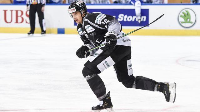 Lauri Korpikoski évoluait sous les couleurs du TPS Turku. [Melanie Duchene - Keystone]