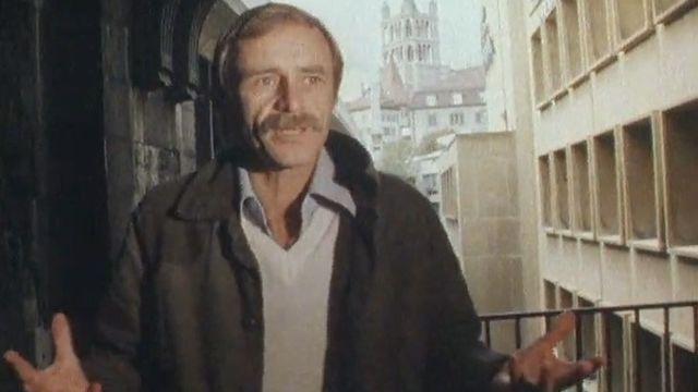 Michel Thévoz, conservateur du Musée de l'art brut et apôtre du graffiti, 1982 [RTS]