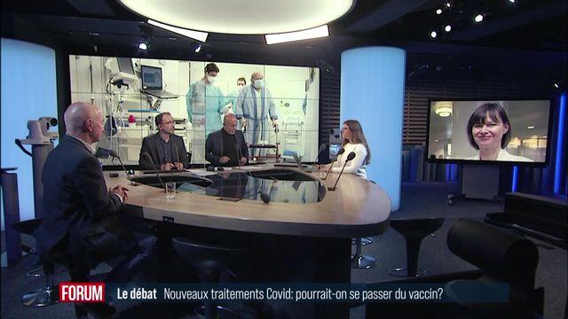 Le grand débat - Nouveaux traitements COVID: pourrait-on se passer du vaccin? (vidéo) [RTS]