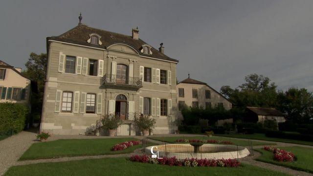 L'histoire de la commune de Céligny, devenue en 1813 une enclave genevoise en terre vaudoise [RTS]