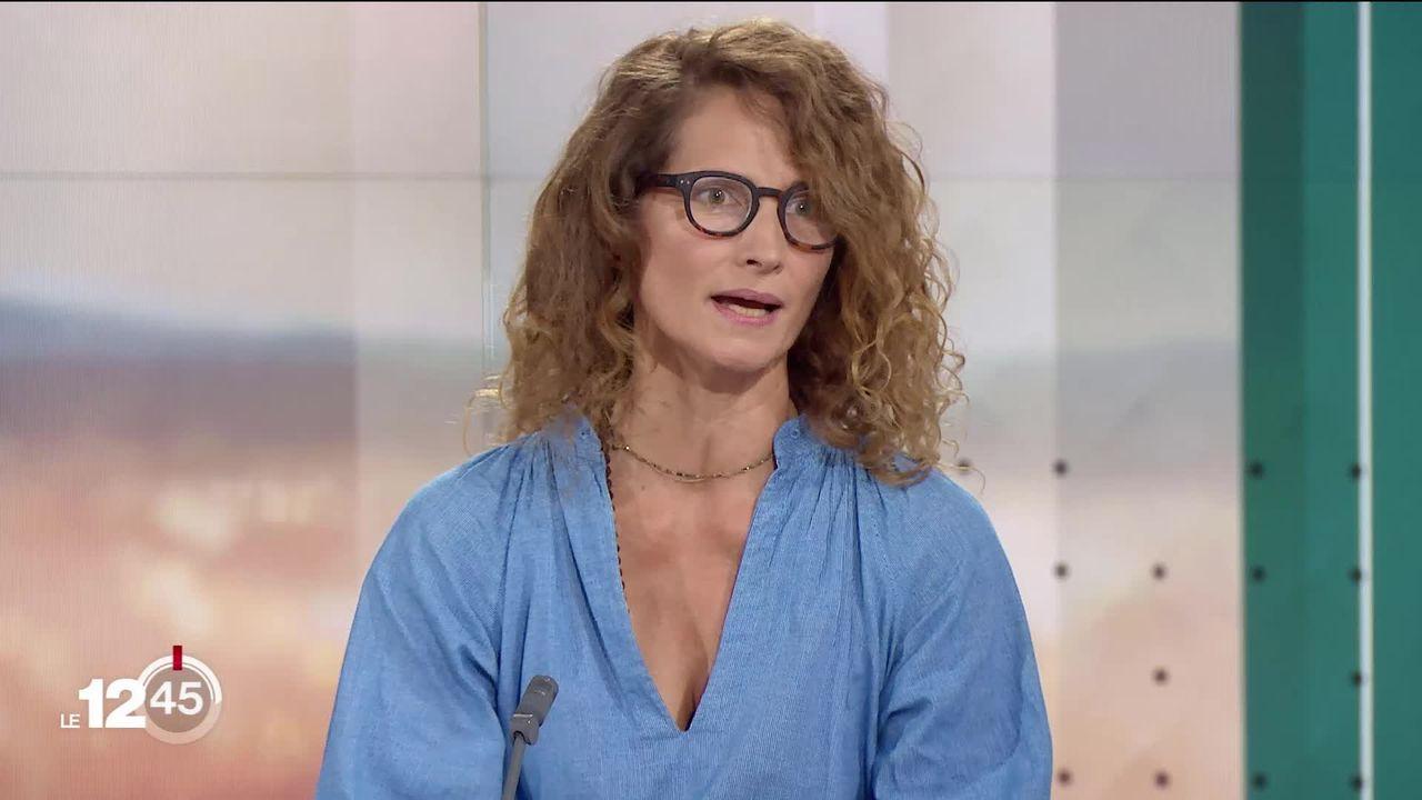 Sexualité: Céline Brockmann, biologiste, présente un projet qui explore les questions tournant autour de la vie sexuelle. [RTS]