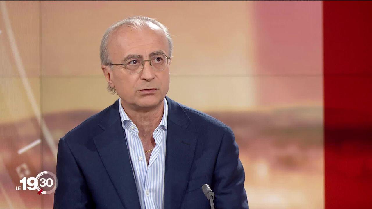 Dose de rappel contre le coronavirus: l'avis de Giuseppe Pantaleo, professeur et chef du Service immunologie et allergie au CHUV [RTS]