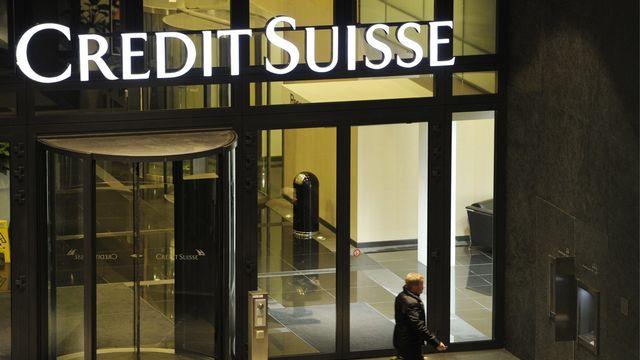 Credit Suisse visé par la Finma dans l'affaire des filatures. [Steffen Schmidt - Keystone]