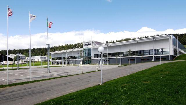 Le bâtiment de Stryker à La Chaux-de-Fonds. [Stryker]