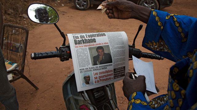 Le Mali formalise le dialogue avec les djihadistes alors que les relations avec la France sont très tendues. [Annie Risemberg - AFP]
