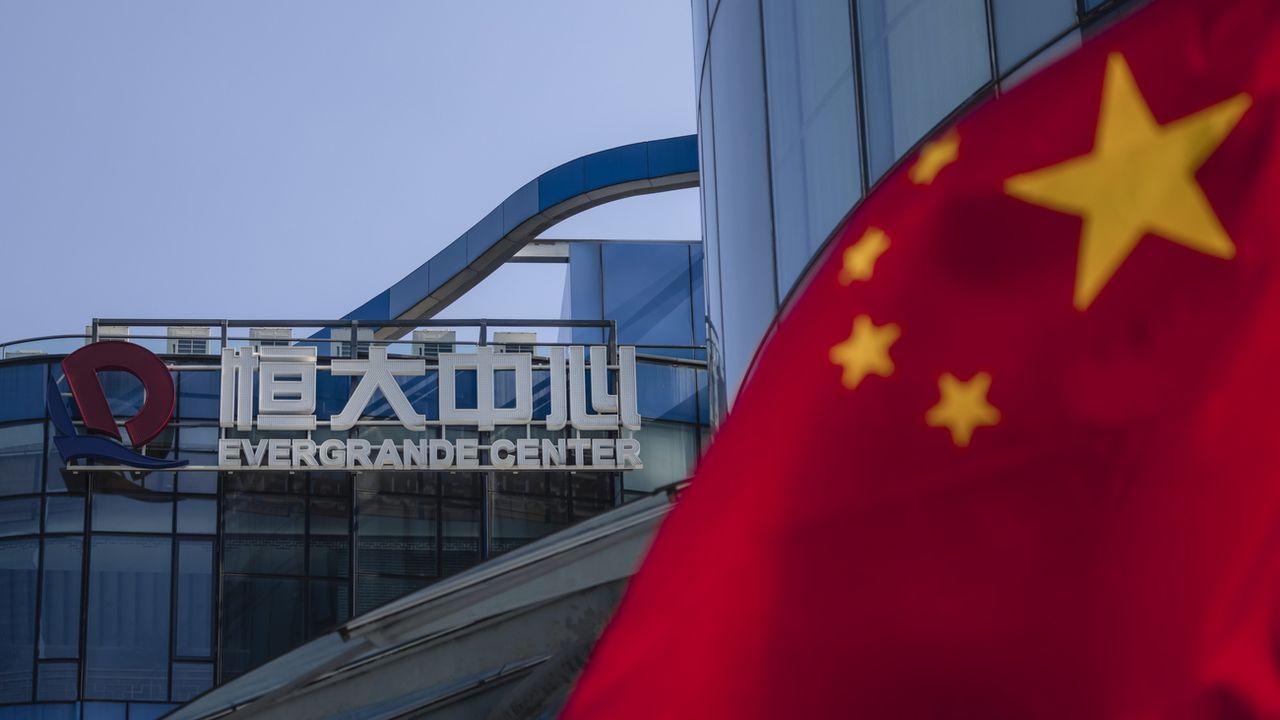 Evergrande, géant chinois de l'immobilier, est au bord du gouffre.  [Alex Plaveski - Keystone]