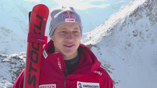 Ski alpin - Marco Odermatt à l'interview [RTS]