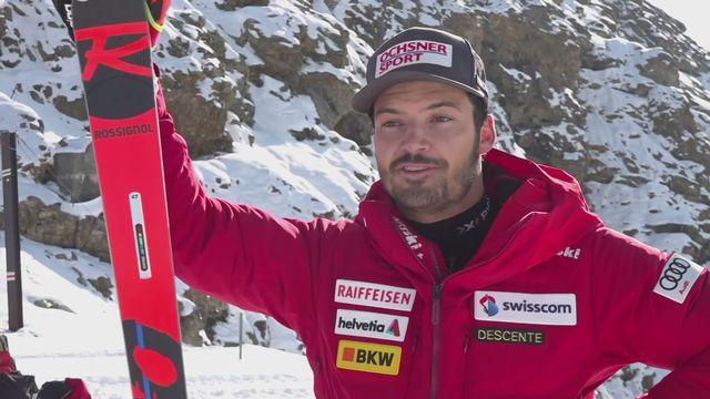 Ski alpin: Loïc Meillard à l'interview [RTS]
