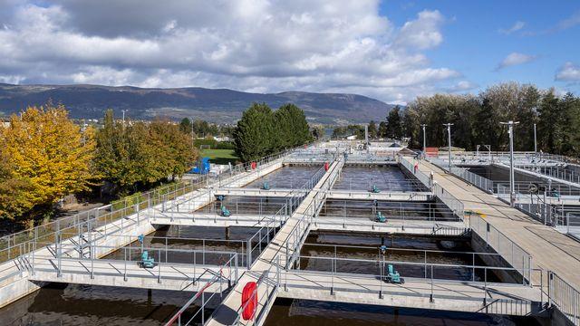 La Ville d'Yverdon-les-Bains s'apprête à moderniser sa station d'épuration. Comme pour plusieurs autres STEP du canton de Vaud, l'objectif consiste à lutter contre les micropolluants. [JEAN-CHRISTOPHE BOTT - KEYSTONE]