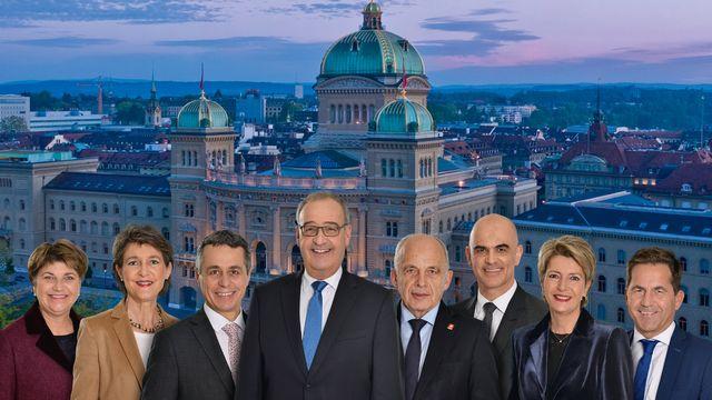 Le Conseil fédéral doit-il passer de sept à neuf membres? [Markus A. Jegerlehner - Chancellerie fédérale]