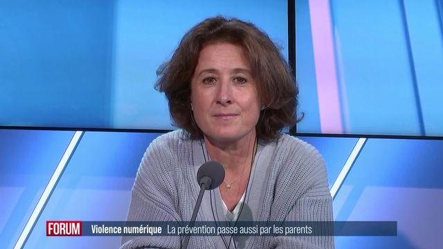 La prévention contre les violences numériques doit aussi passer par les parents (vidéo) [RTS]