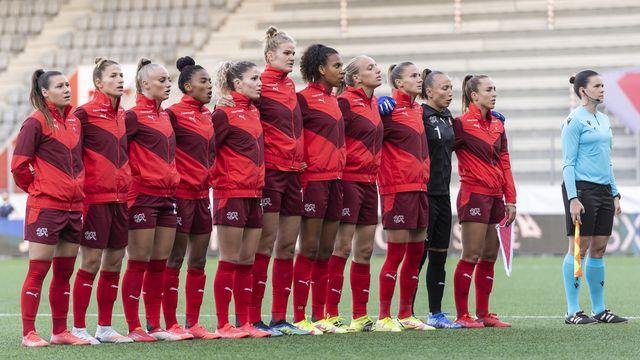 Les Suissesses se doivent non seulement de gagner, mais aussi de soigner leur différence de buts. [Alessandro della Valle - Keystone]