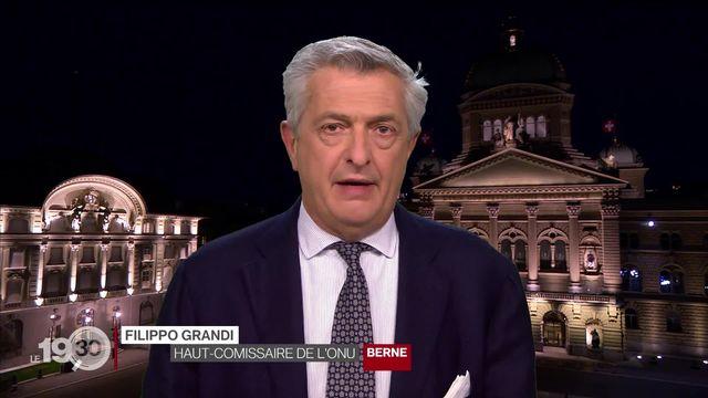 Filippo Grandi appelle à accueillir les réfugiés afghans [RTS]