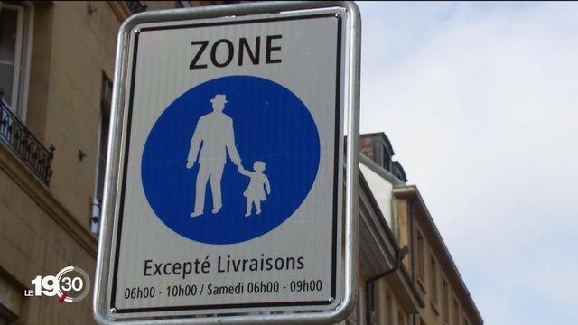 Neuchâtel ne tolère plus les vélos en zone piétonne [RTS]