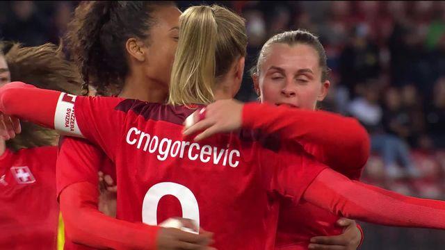 Suisse - Roumanie (2-0): courte victoire pour des Suissesses un peu maladroites [RTS]