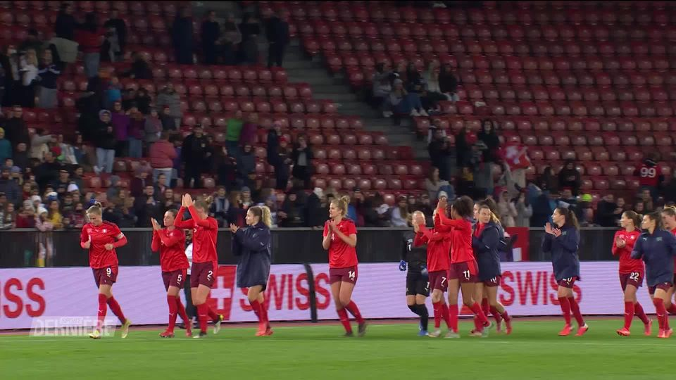 Football: Suisse - Roumanie (2-0) [RTS]