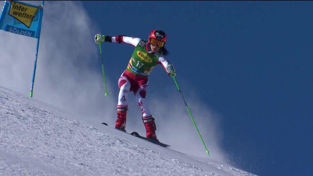 Sölden (AUT), géant dames, 1re manche: l'inattendue Brunner (AUT) complète le podium provisoire [RTS]