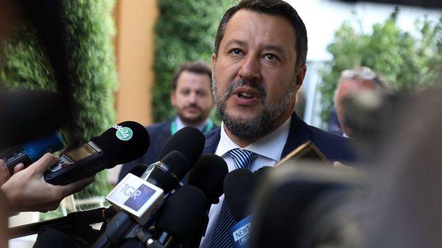 Matteo Salvini. [EPA/Matteo Bazzi - Keystone]
