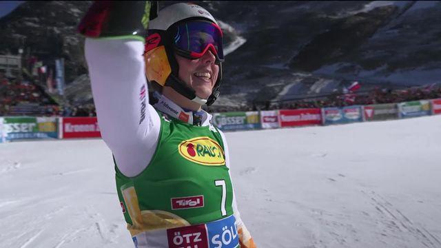 Sölden (AUT), géant dames, 2e manche: Vlhova (SVK) complète le podium [RTS]