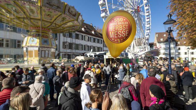 La manifestation bâloise est la plus ancienne foire de Suisse. [Georgios Kefalas - Keystone]
