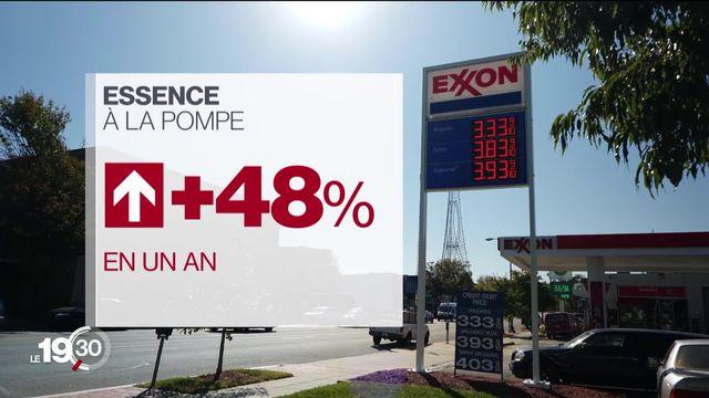 USA: l'inflation devient un enjeu politique [RTS]