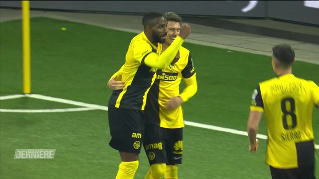 Football, Super League: Young Boys - Lausanne-Sport (3-2) [RTS]