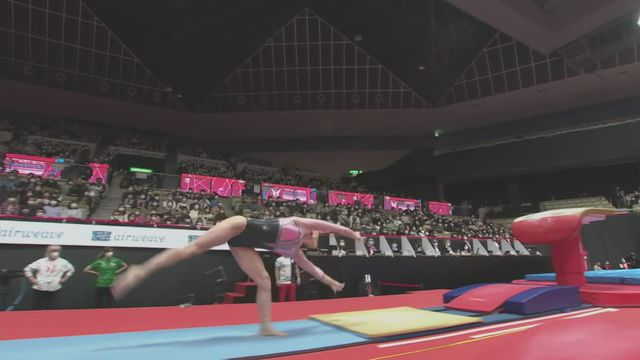 Gymnastique Artistique: les plus belles images des championnats du monde [RTS]