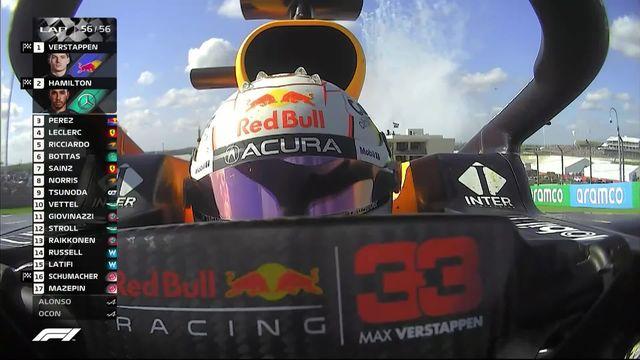 GP des Etats-Unis (#17): victoire de Verstappen (NED) devant Hamilton (GBR) 2e et Perez (MEX) 3e [RTS]