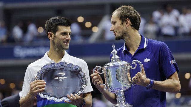 Les finalistes de l'US Open 2021 s'annoncent comme les grandes attractions de la phase finale de la Coupe Davis. [Justin Lane]